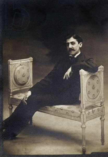Marcel Proust, 1896 (silver gelatin photograph)