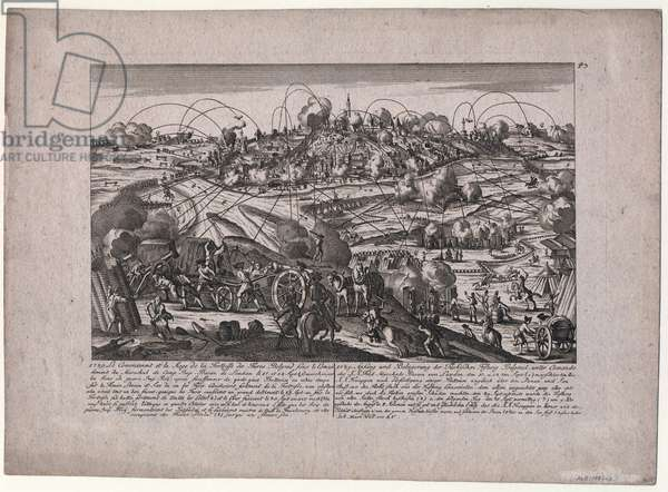 The Capture of Belgrade on October 8, 1789 - Will, Johann Martin (1727-1807) - 1789 - Etching - 32x44,4 - Private Collection
