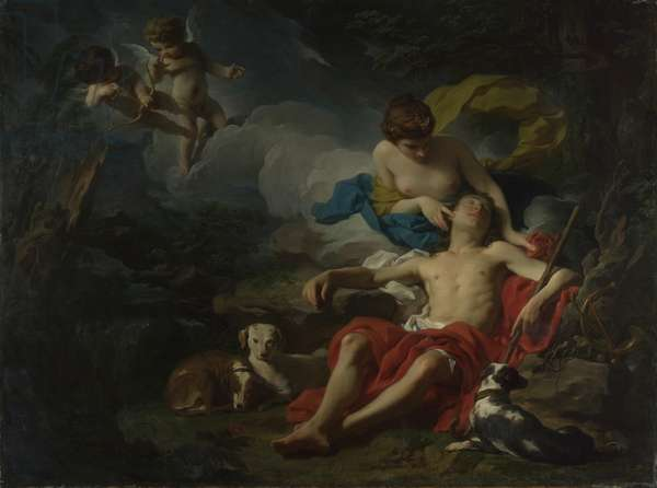 Diana and Endymion, c.1745 (oil on canvas)