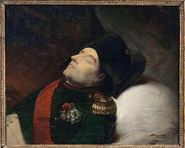 Death of Napoleon, by Mauzaisse, Jean Baptiste (1784-1844).