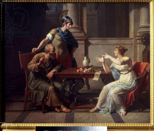 Socrates and Alcibiades at Aspasia