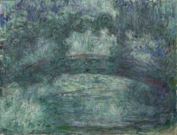 The Japanese Bridge, 1919-24 (oil on canvas)