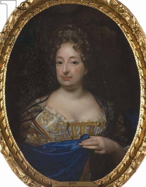 Sophie Charlotte de Hanovre, reine de Prusse - Portrait of Sophia Charlotte of Hanover (1668-1705), Queen in Prussia, by Krafft, David, von (1655-1724). Oil on canvas. Dimension : 88x70 cm. Nationalmuseum Stockholm