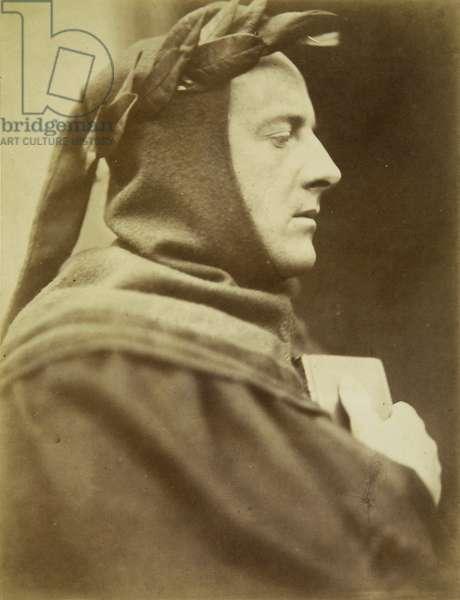 Pre-Raphaelite : John Everett Millais (1829-1896) as Dante par Wynfield, David Wilkie (1837-1887), 1863. Albumin Photo. Private Collection