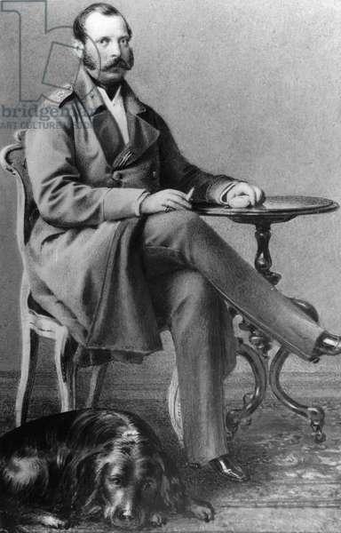 Portrait of Emperor Alexander II of Russia (Alexandre II, Alexandre Nikolaievitch Romanov, Alexander II Nikolaevich) (1818-1881)