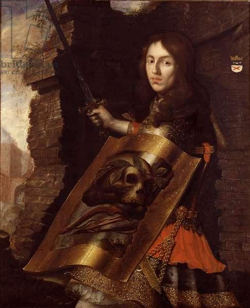 Portrait of Count Pontus Fredrik De la Gardie (1630-1692), by Picolet, Cornelis (1626-1679). Oil on canvas, 1650. Dimension : 113x92 cm. Nationalmuseum Stockholm