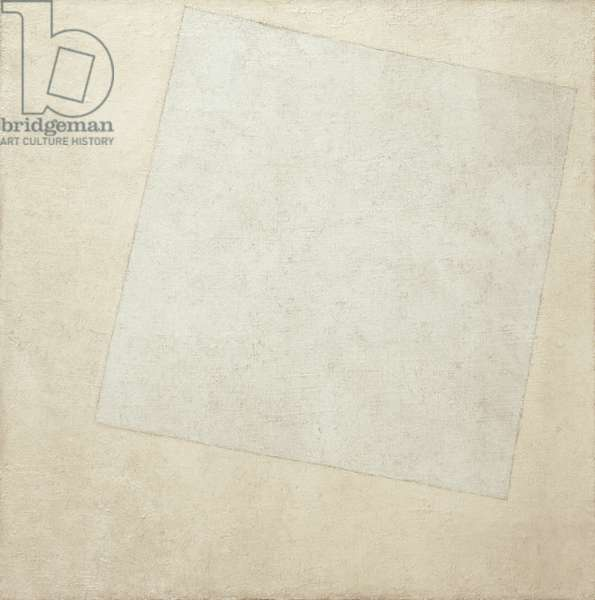 Suprematist Composition: White on White, 1918 (oil on canvas)