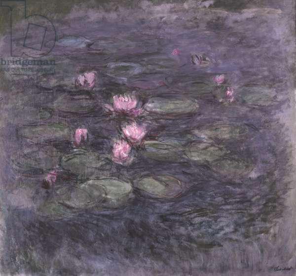 Nymphéas, c.1914 (oil on canvas)