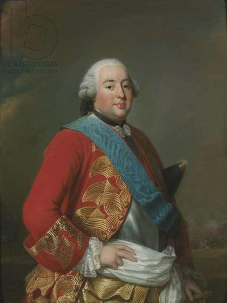 Portrait of Louis Philippe I (1725-1785), Duce de Orleans, by Roslin, Alexander (Alexandre)  (1718-1793). Oil on canvas, ca 1770. Dimension : 116x88 cm. Nationalmuseum Stockholm