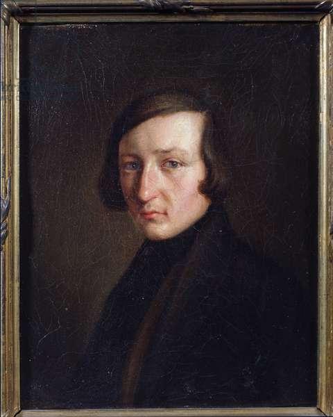 Portrait of the author Heinrich Heine