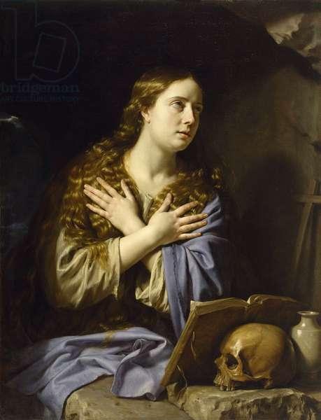 The Repentant Magdalen - Champaigne, Philippe, de (1602-1674) - 1648 - Oil on canvas - 115,9x88,9 - Museum of Fine Arts, Houston