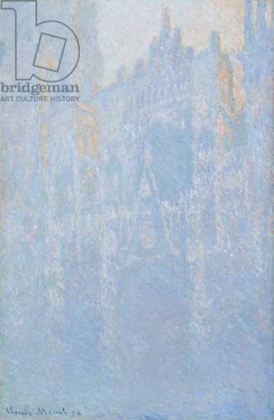 Rouen Cathedral, Portal, Morning Fog, 1892-94 (oil on canvas)