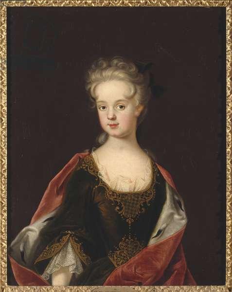 Marie Leczinska, reine de France - Portrait of Marie Leszczynska, Queen of France (1703-1768), by Starbus, Johan (1679-1724). Oil on canvas, 1712. Dimension : 79x65 cm. Nationalmuseum Stockholm