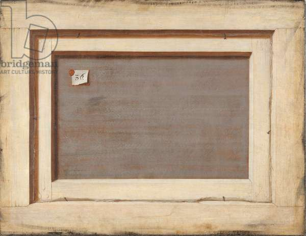 Trompe l'oeil, The Reverse of a Framed Painting