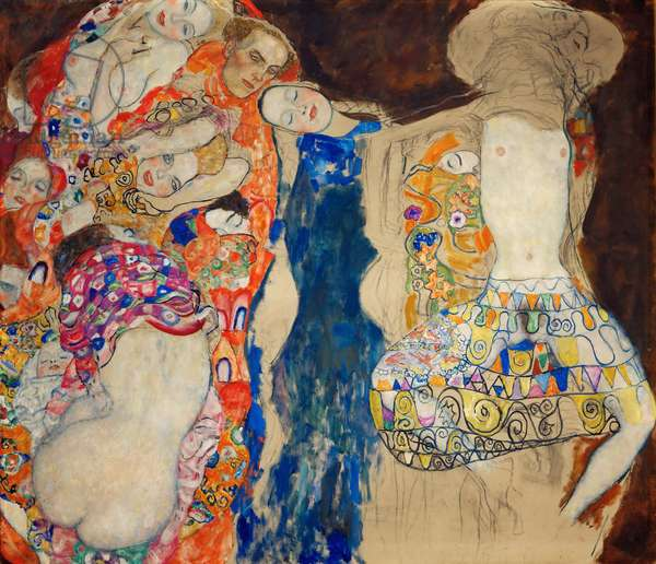 La Mariee - The Bride - Klimt, Gustav (1862-1918) - 1918 - Oil on canvas - 165x191 - Oesterreichische Galerie Belvedere, Vienna