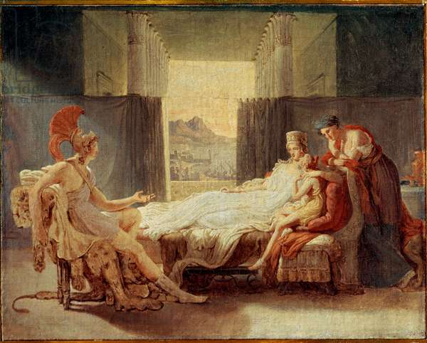 Sketch for Aeneas Telling Dido the Misfortunes of Troy, before 1813 (oil on canvas)