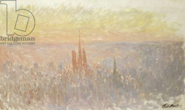 View of Rouen, 1892 (oil on canvas)