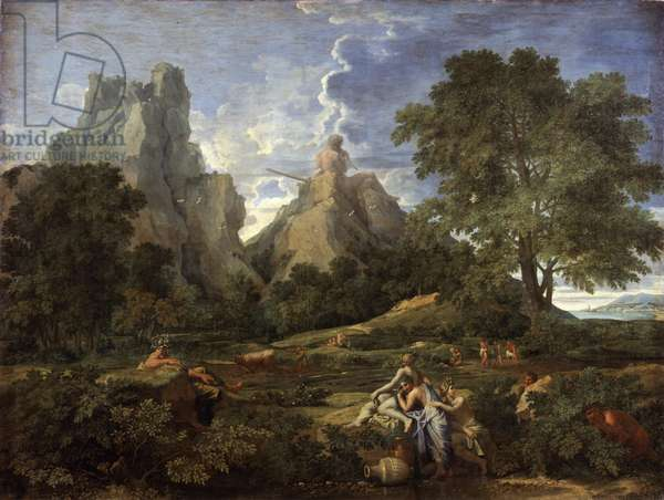 Landscape with Polyphemus, 1649 (oil on canvas)