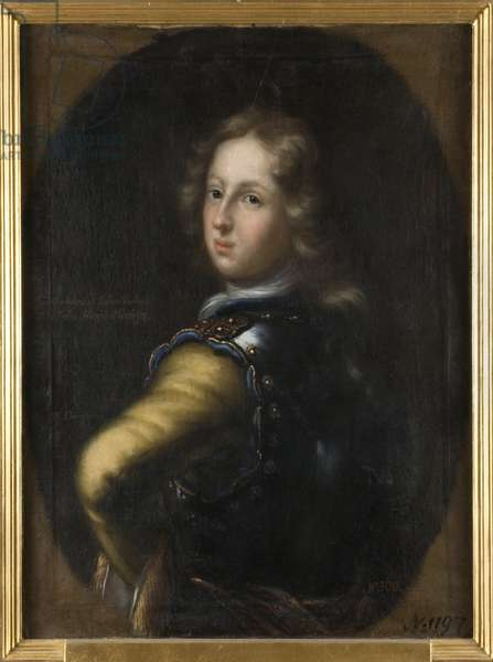 Charles III Guillaume de Bade Durlach - Portrait of Margrave Charles III William of Baden-Durlach (1679-1738), by Ehrenstrahl, David Klocker (1629-1698). Oil on canvas. Dimension : 83x67 cm. Nationalmuseum Stockholm