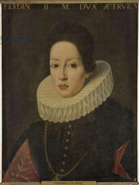 Ferdinand II de Medicis - Portrait of Ferdinando II de' Medici, Grand Duke of Tuscany (1610-1670), Anonymous . Oil on canvas. Dimension : 64x49 cm. Nationalmuseum Stockholm