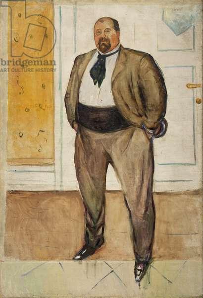 """""Portrait du consul Christen Sandberg (1861-1918) """" Peinture d'Edvard Munch (1863-1944) 1901 Munch Museum, Oslo"