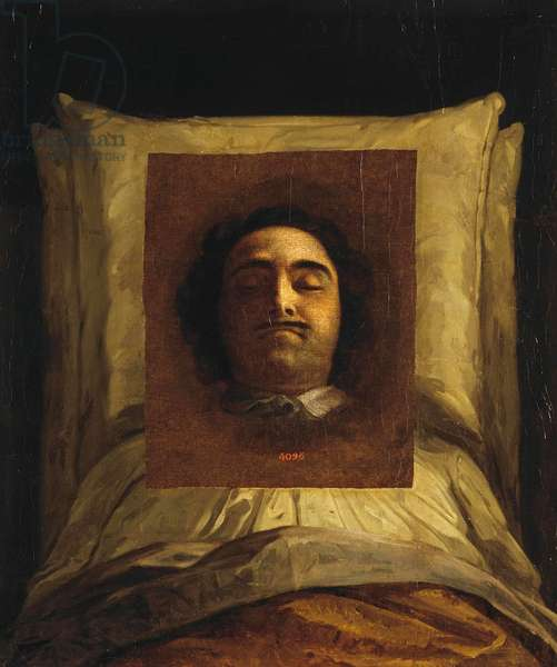 Pierre le Grand - Peter I on His Deathbed par Caravaque, Louis (1684-1754). Oil on canvas, size : 77x64, 1725, State Hermitage, St. Petersburg