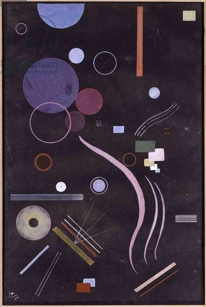 """""""""""Sans titre"""""""" Aquarelle de Vassily Kandinsky (ou Wassily Kandinski ou Kandinskij, 1866-1944) 1924 Museo Nacional Centro de Arte Reina Sof'a, Madrid"""