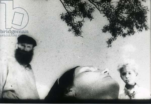 """Scene from the film """"""""Bezhin Meadow"""""""" by Sergei Eisenstein by Anonymous. Photograph, 1937. Private Collection"""