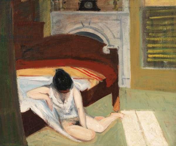 """""Summer interior"""" (Interieur en ete) 1909 (oil on canvas)"
