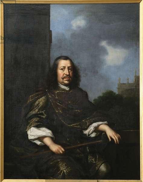 Frederic III de Holstein Gottorp - Portrait of Duke Frederick III of Holstein-Gottorp (1597-1659), by Ehrenstrahl, David Kloecker (1629-1698). Oil on canvas. Dimension : 152x120 cm. Nationalmuseum Stockholm