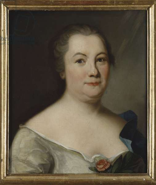 Hedvig Charlotta Nordenflycht, poetesse suedoise - Portrait of the poet Hedvig Charlotta Nordenflycht (1718-1763), Anonymous . Oil on canvas. Dimension : 47x40 cm. Nationalmuseum Stockholm