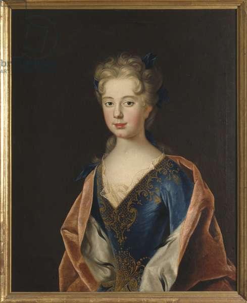 Princesse Anne Leszczynska - Portrait of Princess Anna Leszczynska (1699-1717), by Starbus, Johan (1679-1724). Oil on canvas, 1712. Dimension : 93x78 cm. Nationalmuseum Stockholm