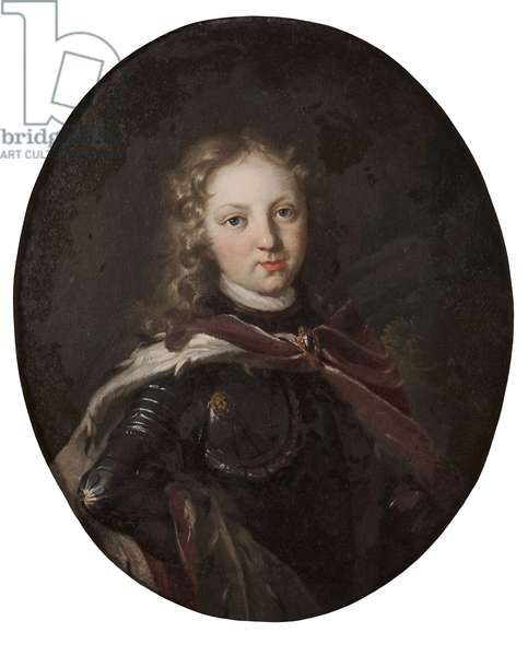 Prince Christophe de Bade Durlach - Prince Christopher (1684-1723), Margrave of Baden-Durlach, Anonymous . Oil on canvas, 1696. Dimension : 39x32 cm. Nationalmuseum Stockholm