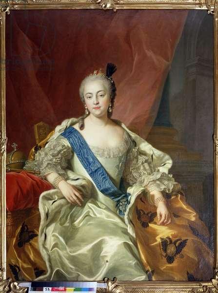 Portrait of Empress Elisabeth Petrovna
