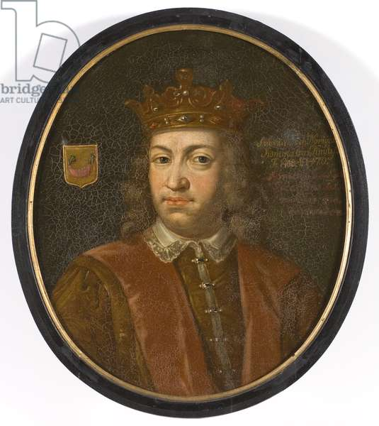 Portrait of King Charles VIII of Sweden (oil on canvas)