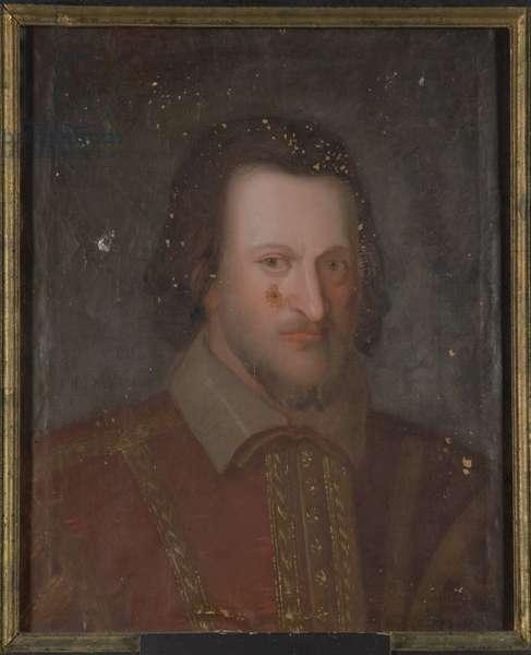 Louis I de Baviere, dit Louis de Kelheim - Portrait of Louis I (1173-1231), Duke of Bavaria and Count Palatine of the Rhine, Anonymous . Oil on canvas. Dimension : 55x49 cm. Nationalmuseum Stockholm