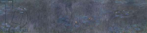 The Water Lilies - Tree Reflections, 1914-26 (oil on canvas)