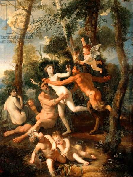 Pan and Syrinx, 1637 (oil on canvas)