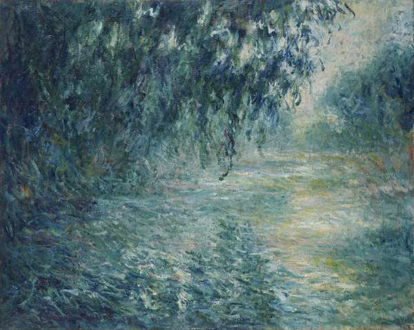 Morning on the Seine, 1898 (oil on canvas)