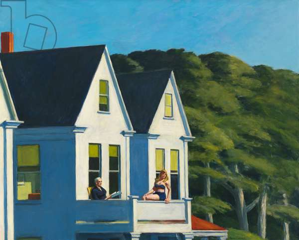 Second Story Sunlight, 1960 (oil on canvas)