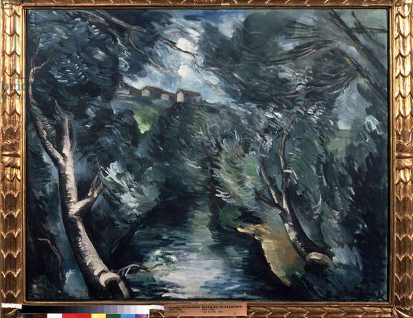 """Le ruisseau"" (stream), 1912 (huile sur toile)"