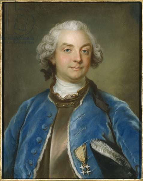 Portrait of Count Fredrik Axel von Fersen (1719-1794), by Lundberg, Gustaf (1695-1786). Pastel on paper, 1794. Dimension : 65x54 cm. Nationalmuseum Stockholm