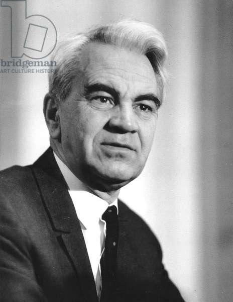 Mstislav Keldych (1911-1978) - Mstislav Vsevolodovich Keldysh par Anonymous, - Photograph - Russian Academy of Sciences