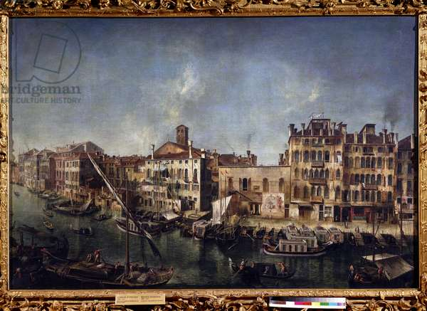 View of the Canal Grande from the Fondamenta Del Vin