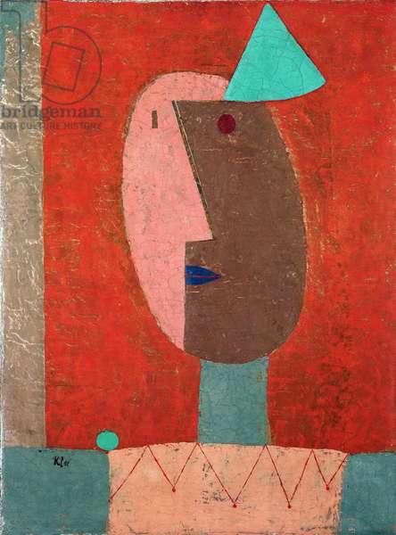 """""""Clown""""1929 (oil on canvas)"""