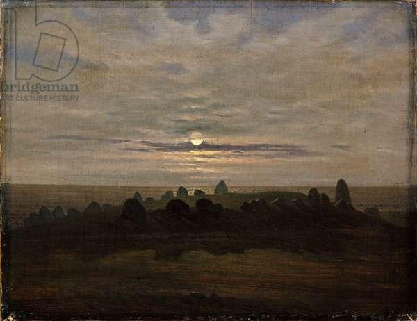 Riesenberg, Nobbin, Rügen, c.1820 (oil on canvas)