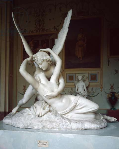Amor and Psyche, 1796 (marble)