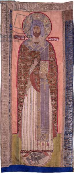 Saint Jean de Souzdal (mort en 1373) - Saint John, Bishop of Suzdal. 1578, Museum of History and Art, Suzdal