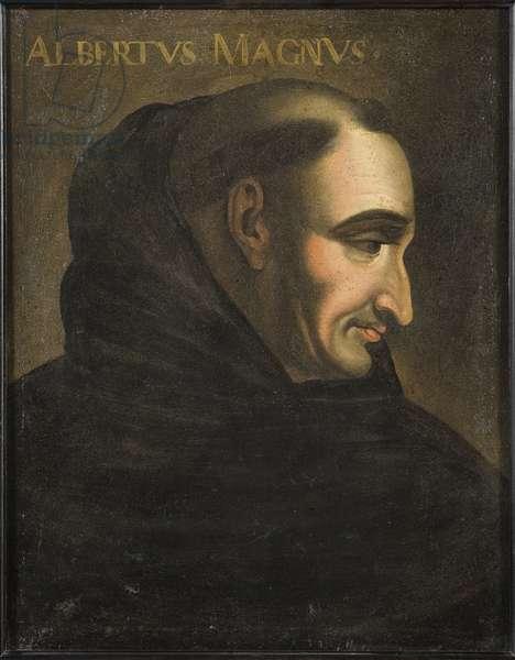 Saint Albert le Grand (Albrecht von Bollstadt ou Albert de Cologne) (1200-1280) - Albertus Magnus, Anonymous . Oil on canvas. Dimension : 56x46 cm. Nationalmuseum Stockholm