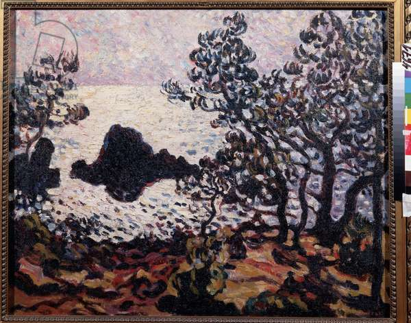 Sea at Antheor, 1907 (oil on canvas)
